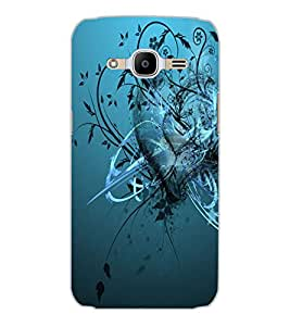 SAMSUNG GALAXY J2 2016 HEART Back Cover by PRINTSWAG