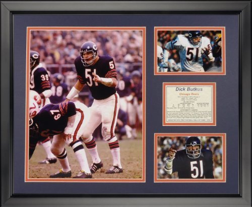 legends-never-die-dick-butkus-color-chicago-bears-framed-photo-collage-16-x-20-by-legends-never-die
