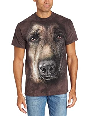 The Mountain Men's German Shepherd Tee