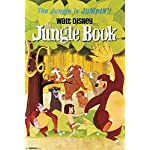 The Jungle Book One Sheet Vintage Style Movie Poster 24x36
