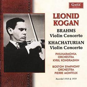 Leonid Kogan Plays Brahms & Khachaturian