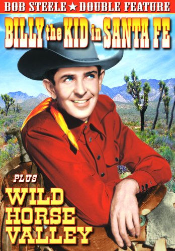 Billy the Kid in Sante Fe (1941)/Wild Horse Valley [DVD] [Import]