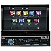 Boss Audio BV9979B Single-DIN 7'' Motorized Touchscreen DVD Player Receiver