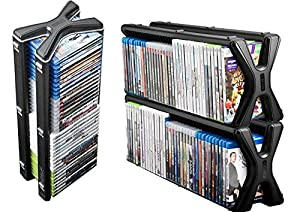 level up meuble tour de rangement dvd blu ray xbox. Black Bedroom Furniture Sets. Home Design Ideas