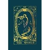 The World Tarot Card Journal: Gold Tarot Card Notebook 120-Page (Tarot Card Gifts) (Volume 4)