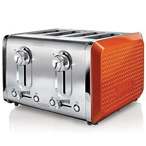 Amazon.com: BELLA 13792 Dots Collection 4-Slice Toaster ...