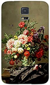 Timpax protective Armor Hard Bumper Back Case Cover. Multicolor printed on 3 Dimensional case with latest & finest graphic design art. Compatible with Samsung Galaxy S-5 / S5 Design No : TDZ-22011