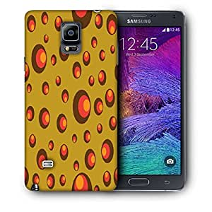 Snoogg Small Colorful Shades Printed Protective Phone Back Case Cover For Samsung Galaxy NOTE 4 / NOTE IIII