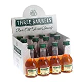 Three Barrels VSOP Brandy 5cl Miniature - 12 Pack