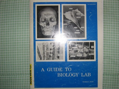 guide to biology lab by thomas rust rh guide to biology lab by thomas rust mollysmenu us Science Lab Biology Lab Equipment
