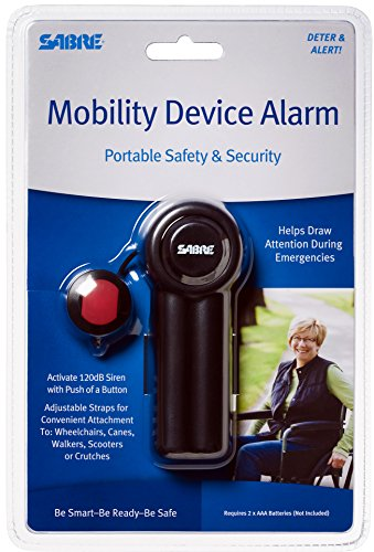 Sabre Mobility Device Alarm
