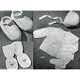 Tricô para bebê-bebê tricô padrões (Portuguese Edition)