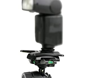 2 Pack MicroFiber Clean Cloth Hot Shoe Flash Light Base Mount Stand Holder for Canon Nikon Sigma Pentax Olympus Panasonic CEARI