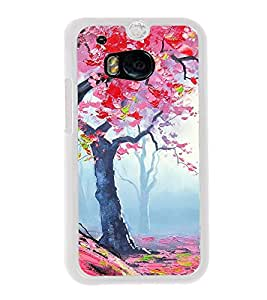 Beautiful Paining 2D Hard Polycarbonate Designer Back Case Cover for HTC One M8 :: HTC M8 :: HTC One M8 Eye :: HTC One M8 Dual Sim :: HTC One M8s