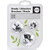 We R Memory Keepers 54-Pack Brad, Black and White
