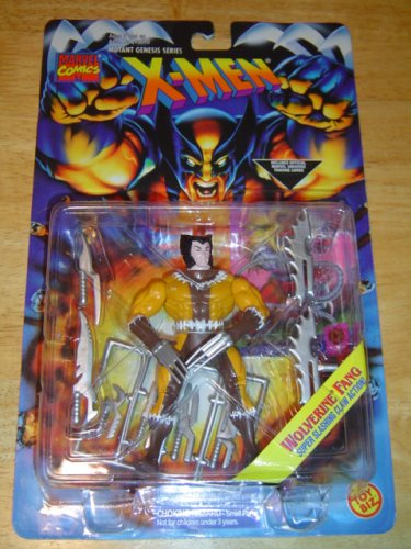 X-Men Mutant Genesis Wolverine Fang Action Figure - 1