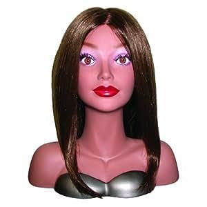 Hair Art Courtney Designer Mannequin African American Mini Mannequin