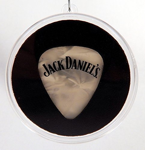 Jack Daniels Guitar Pick (#6) With MADE IN USA Christmas Ornament Capsule (Jack Daniels Display Case compare prices)