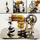 Sunnytech®Mini Hot Air Stirling Engine Motor Model Educational Toy Kits Electricity HA001