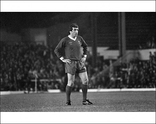 Photographic Print of 1977 Ian Callaghan – 800th game from Liverpool FC Pictures
