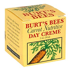 Burt's Bees Carrot Nutritive Day Creme, 2-Ounce Jar  (Pack of 2)