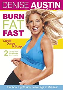 Burn Fat Fast - Cardio Dance & Sculpt [Import]: Amazon.ca: Denise ...