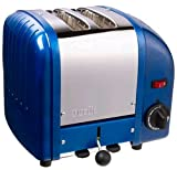Dualit 2 Slice Toaster Metallic Blue 20240