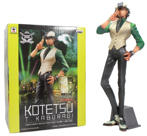 Banpresto 48121 Tiger and Bunny: Kaburagi T. Kotetsu/Wild Tiger 10