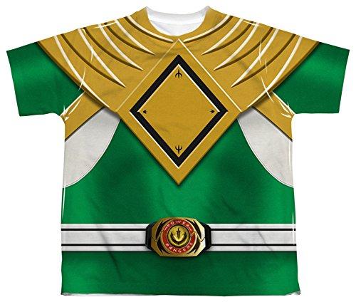 Youth: Power Rangers - Green Ranger Kids T-Shirt Size YS (Green Ranger Shirt Kids compare prices)