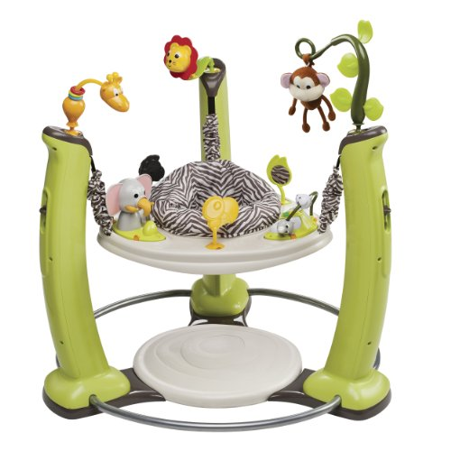 Review Of Evenflo ExerSaucer Jump and Learn Jumper, Jungle Quest