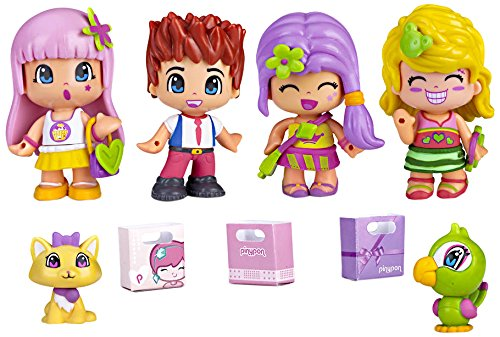 Pinypon - City Pack con 4 figuras (Famosa 700012060)