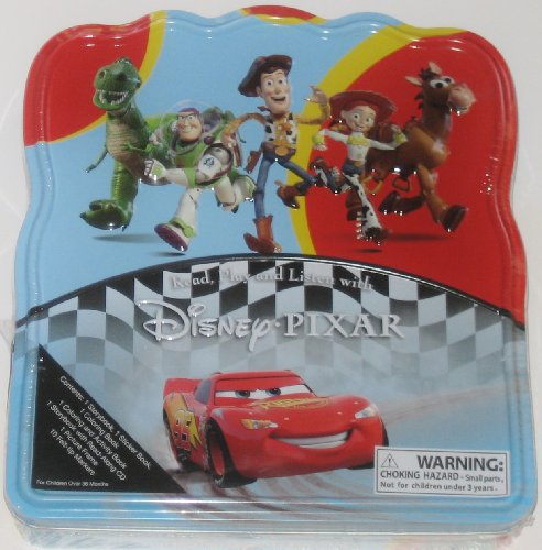 Disney Pixar 2010 Read, Play and Listen Collectible Tin