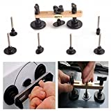 HiYi New Bridge Puller Sets Paintless Dent Removal Tools Pops a dent with 7pcs Different Shapes PDR Tools Car Repair Dent Puller