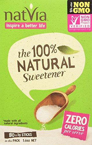 Natvia 100% Natural Sweetener, 80 Count