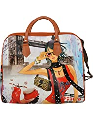 Carry Bag For Girls And Women's Handbag By Trendz (Multi-Coloured)