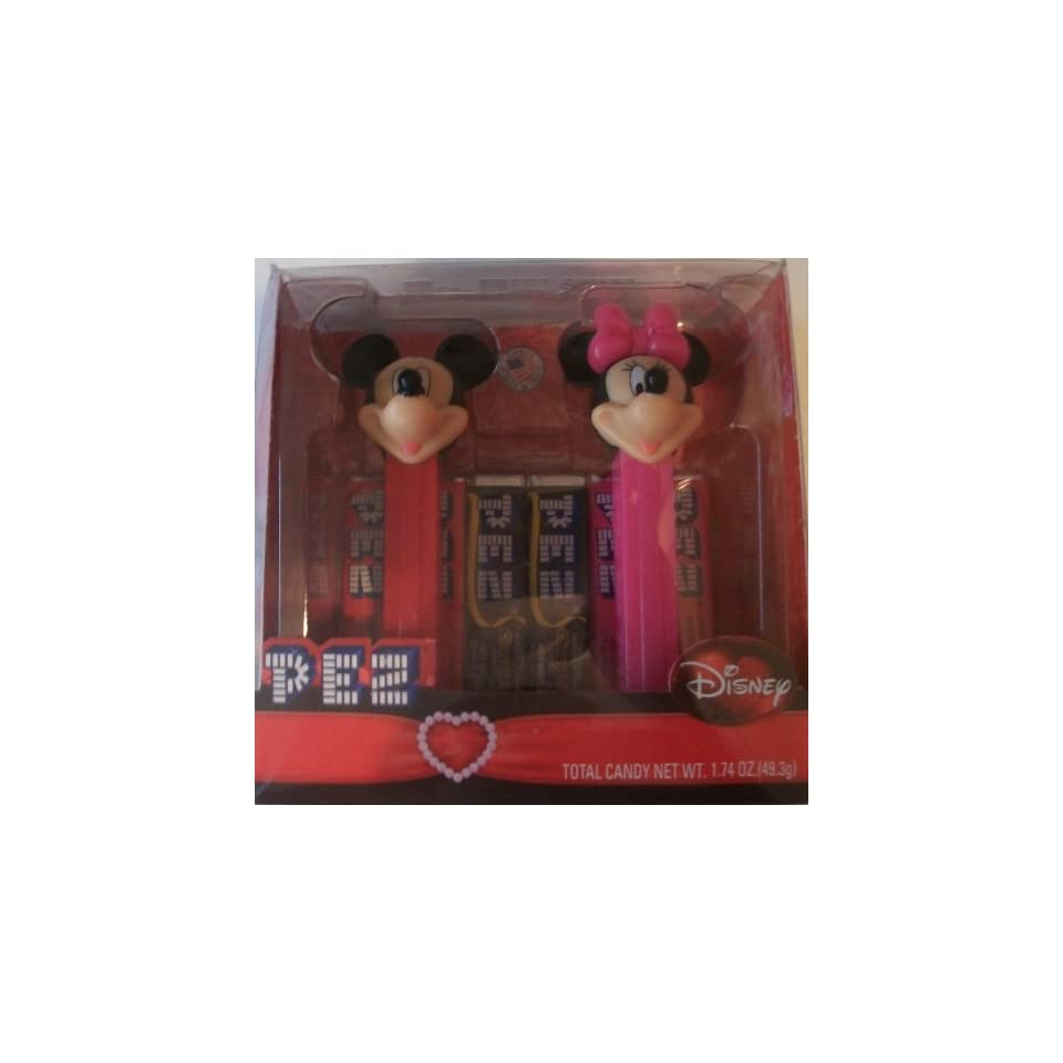 Disney Mickey & Minnie Valentines Day PEZ Set (2009)