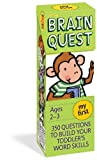 img - for My First Brain Quest, revised 4th edition: 350 Questions and Answers to Build Your Toddlers Word Skills book / textbook / text book