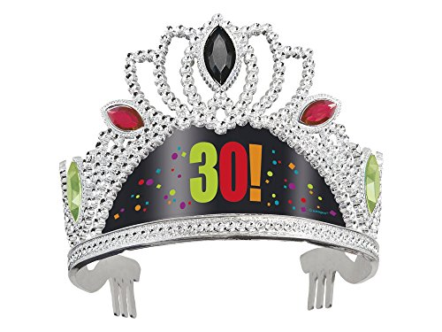 30th Birthday Cheer Tiara Hat for the party princess!