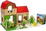 Hape Farm Family Doll House Playset