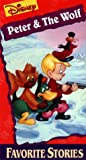 Peter & the Wolf Disney Favorite Stories [VHS]