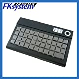 エフケイシステム POSプログラマブルキーボード USB接続 ブラック PKB-044U