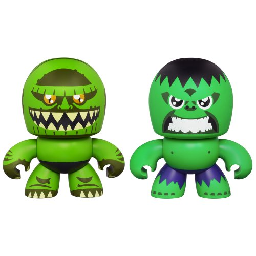 Marvel The Avengers Mini Muggs Hulk and Abomination Figures - 1
