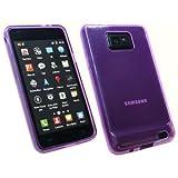 Kit Me Out ES Funda de gel TPU para Samsung Galaxy S2 i9100 - Violeta Esmerilado