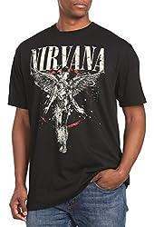 Nirvana Classic Big & Tall Short Sleeve Graphic T-Shirt