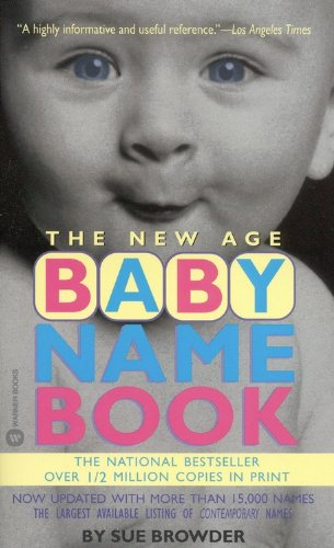 The New Age Baby Name Book front-915142