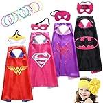 Sepco Superhero Costumes Girl Cape an...