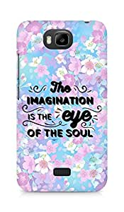 Amez The Imagination is the Eye of the Soul Back Cover For Huawei Honor Bee