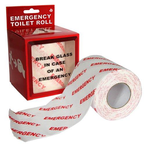 Emergency Toilet roll.