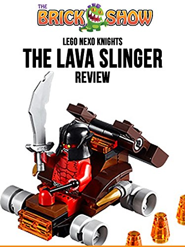 LEGO Nexo Knights The Lava Slinger Review (30374)