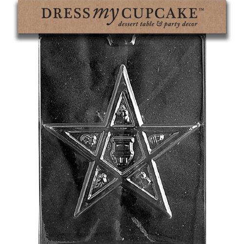 Dress My Cupcake Chocolate Candy Mold, Eastern Star